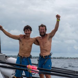 Father and Son Complete Atlantic Row