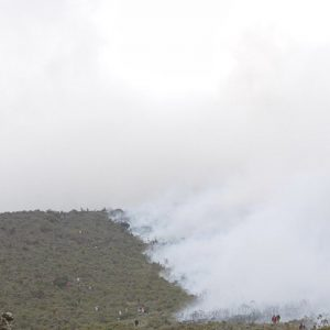 Kilimanjaro Fire Rages, Climbers Evacuated