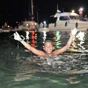 12-Year-Old Swims from St. Lucia to Martinique