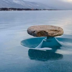 The Weird Natural Rock Art of Lake Baikal
