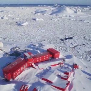 Virus Reaches Antarctica