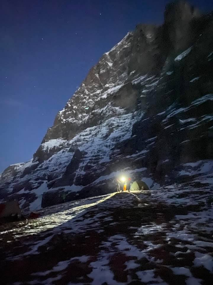 New Route Attempt On Eiger North Face Aborted