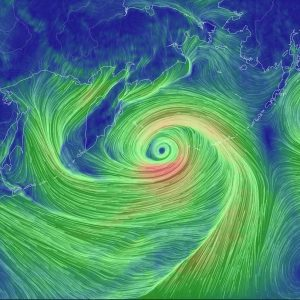 Record Low Pressure System Heading for Alaska