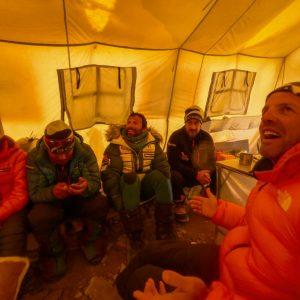 Winter Manaslu: Early Progress, Then Bad Weather