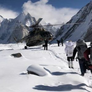 K2 Summiters Leave Base Camp