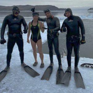 Russian Woman Sets Longest Under-Ice Swim Record