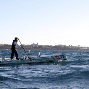 Hungarian Man to SUP Across the Atlantic