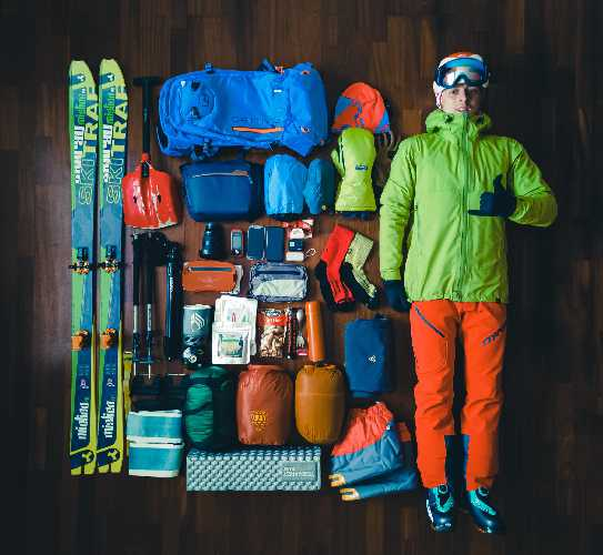 Gear for Magnovsky's ski trip