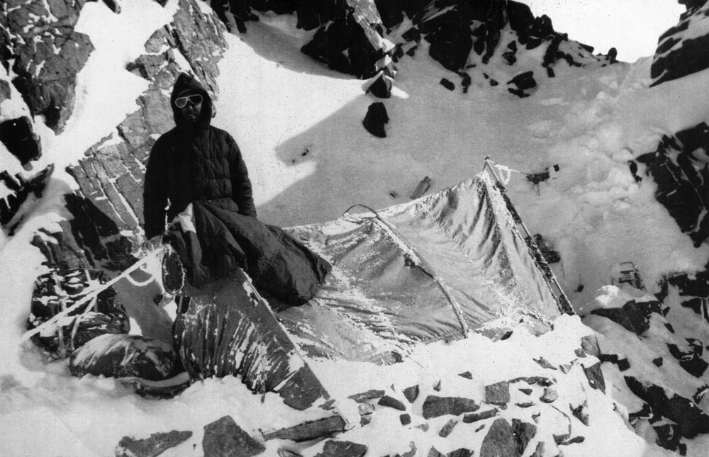 The only Brit on the 1953 K2 expedition