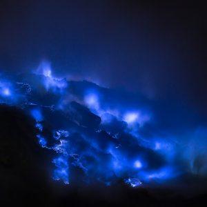 Natural Wonders: The Blue Fire of Kawah Ijen
