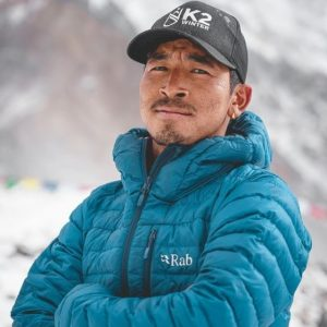 Gelje Sherpa, Three 8,000'ers Away from a New Record