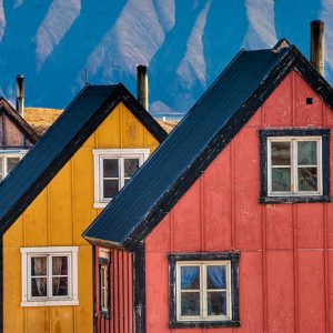 Greenland's Color-Coded Houses