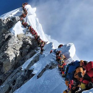Could 2021 See Another Everest Traffic Jam?