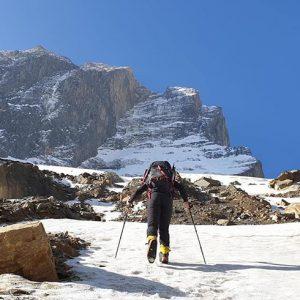 Dhaulagiri: Progress on the NW Ridge