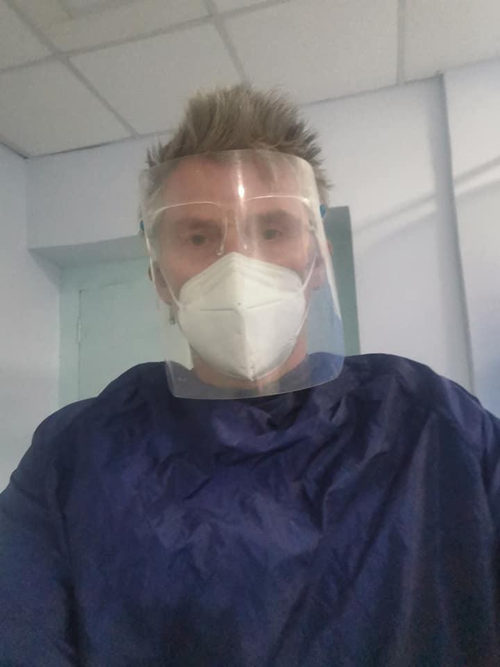 Norwegian Erlend Ness, the possible COVID patient zero, in hospital.