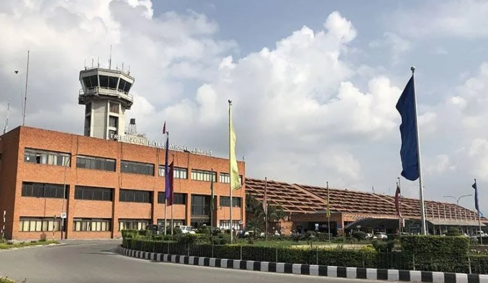 Kathmandu's airport building