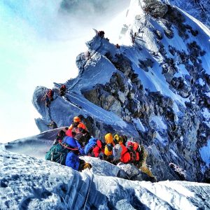 Everest Summits Begin With Guides, Clients, and a Sheikh