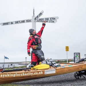 Kayaking the Length of the UK