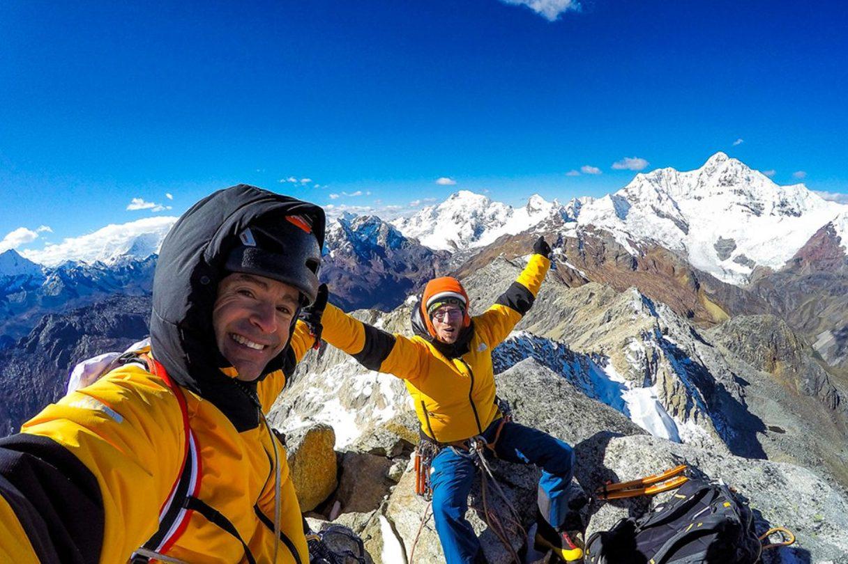 Pou Bros on Summit of Viva Peru Carajo
