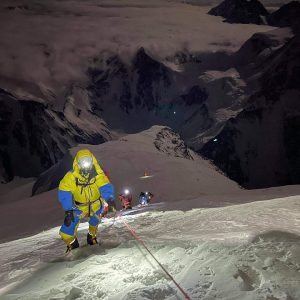 K2 Summits, One Without Oxygen