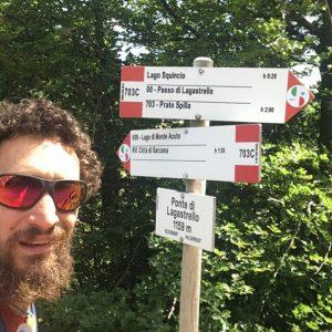 Elia Origoni Restarts Walk Across Italy