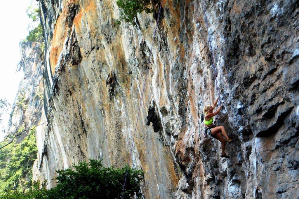 Thailand sport climbing