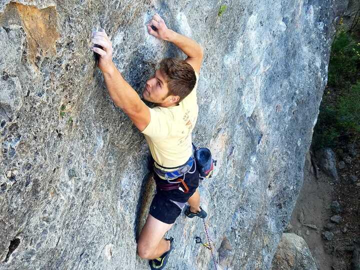 Sport climbing in Texas