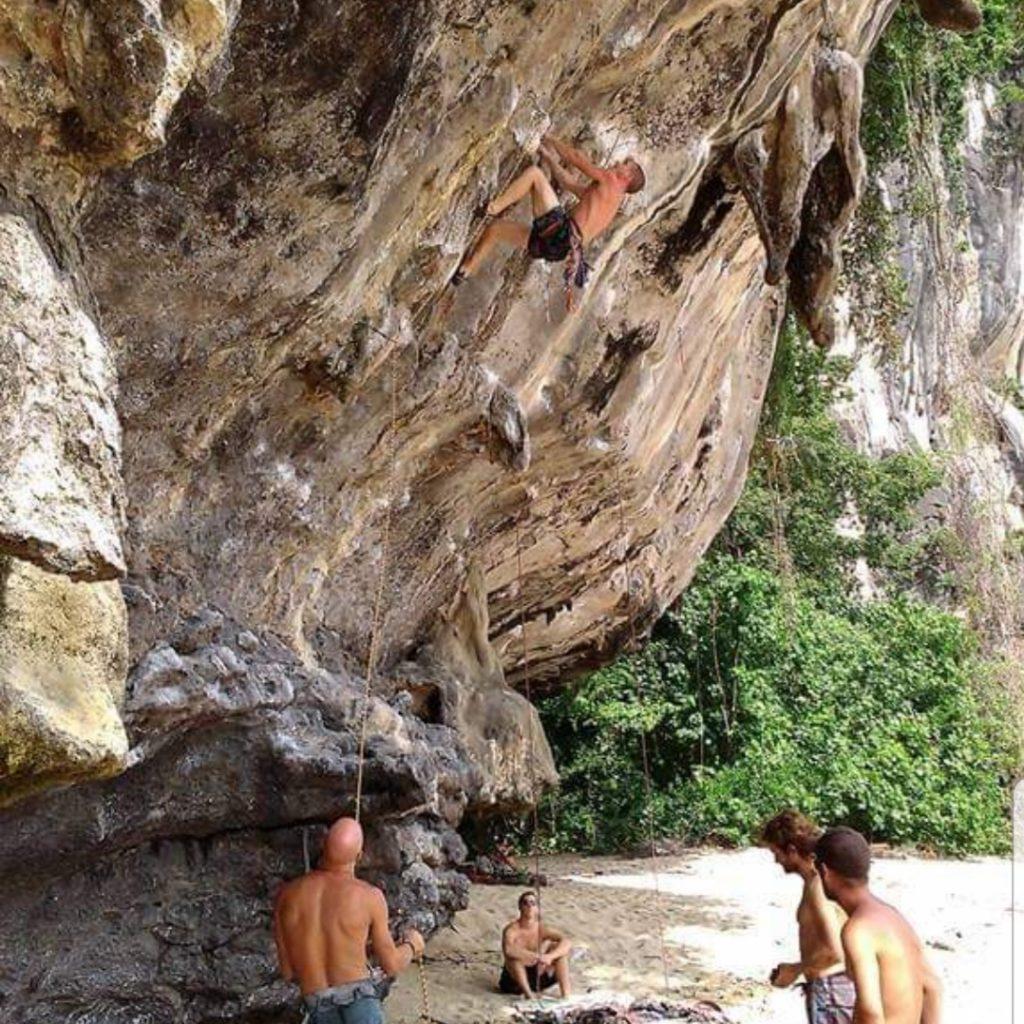 Sport climbing in Thailand