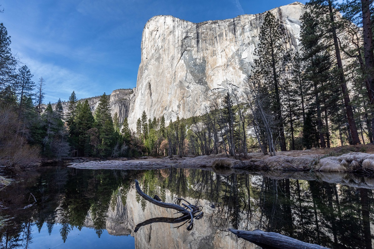 El Cap in Yosemite, is home to many classic multi-pitch routes. Photo: Shutterstock