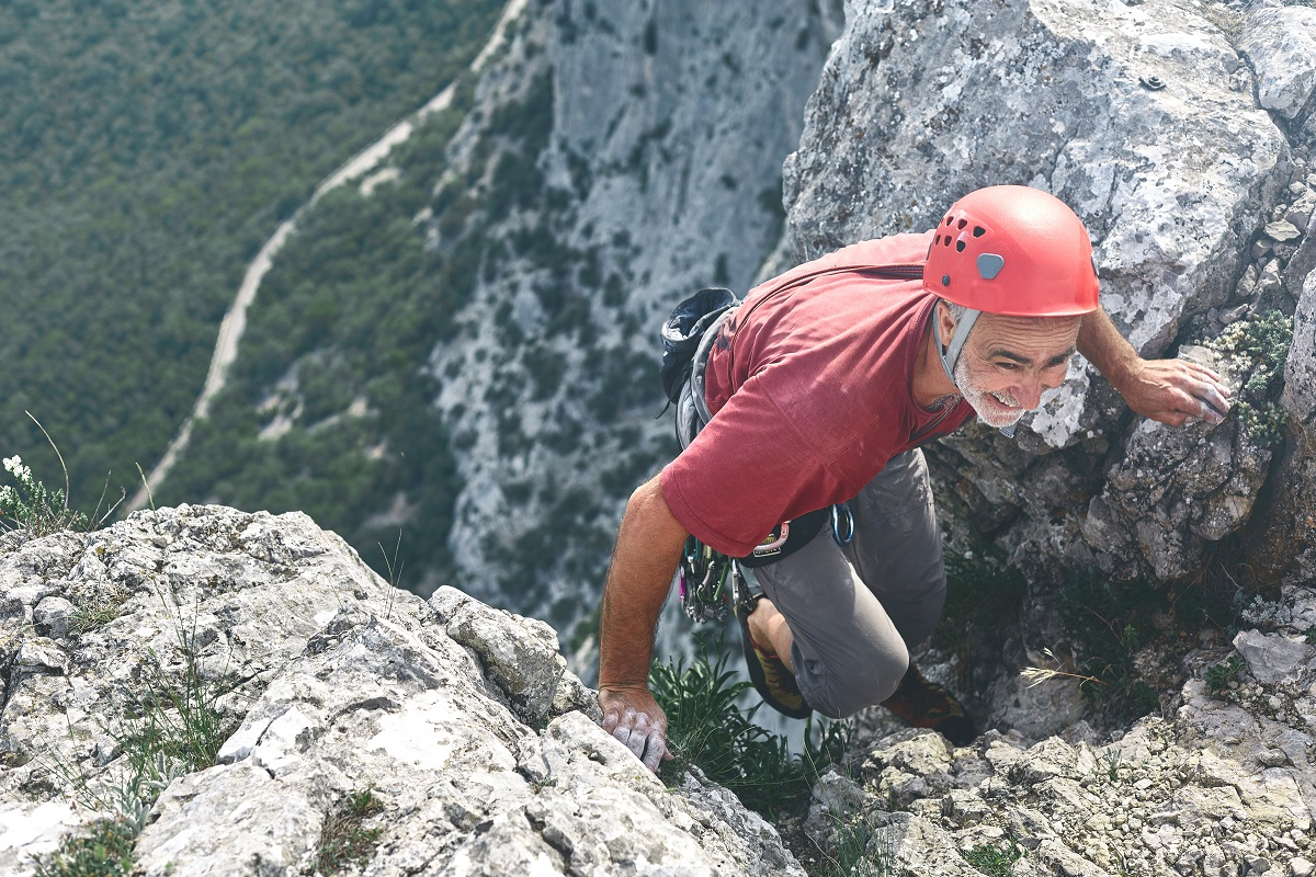 Climbing grades explained: class III or IV terrain. Photo: Shutterstock