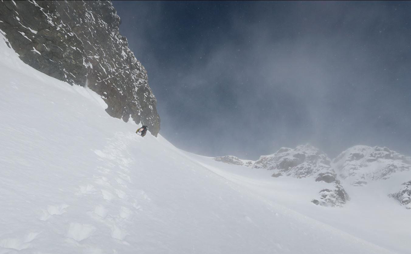 first winter trek up the cerro pinuer
