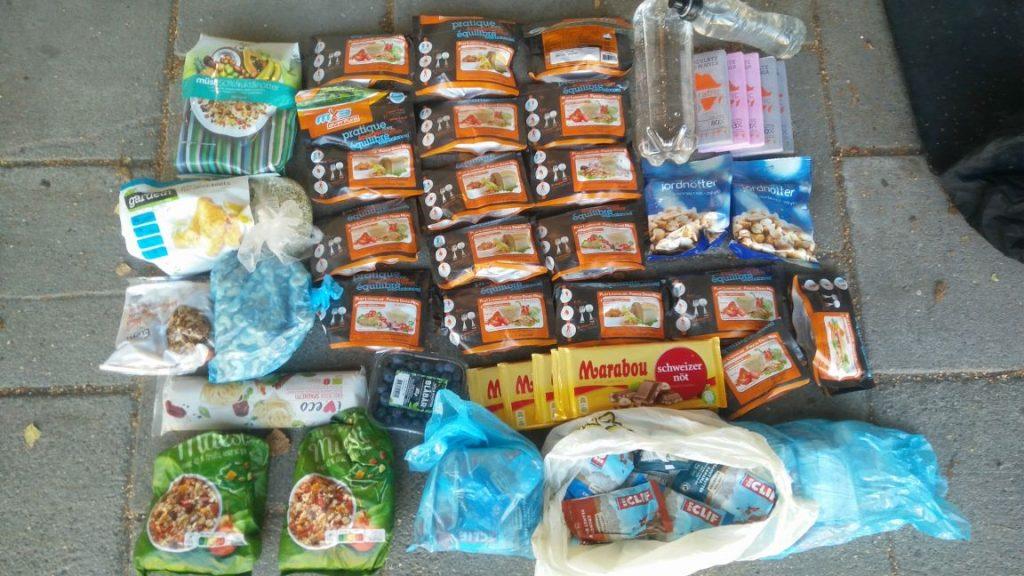 Kungsleden food not supported
