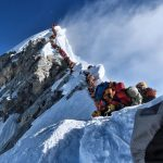 Everest Crowds, No-O2 Summits