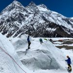 Sure Enough, Crowds of Rookies on K2