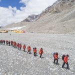 Chinese Head for Everest Summit