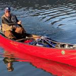 Canoeist Passes Halfway on 12,000km Odyssey
