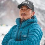 Portrait of Gelje Sherpa