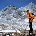David Goettler near Everest Base Camp