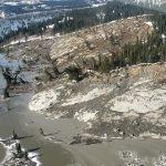 Mudslide in northern Canada