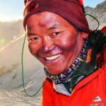 A Sherpa smiling widely