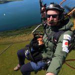 Dan Burton paramotor crash death