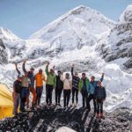 Lhotse Update: Morrison and Nelson Ski the Dream Line
