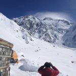 Wrecked Tent and Avalanche Debris Spotted on Nanga Parbat
